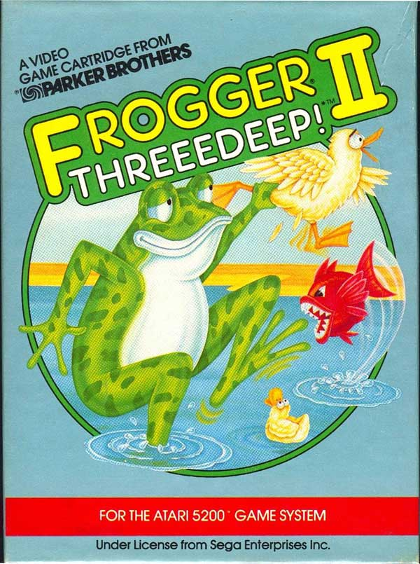 Frogger II: Threeedeep! - Box Front