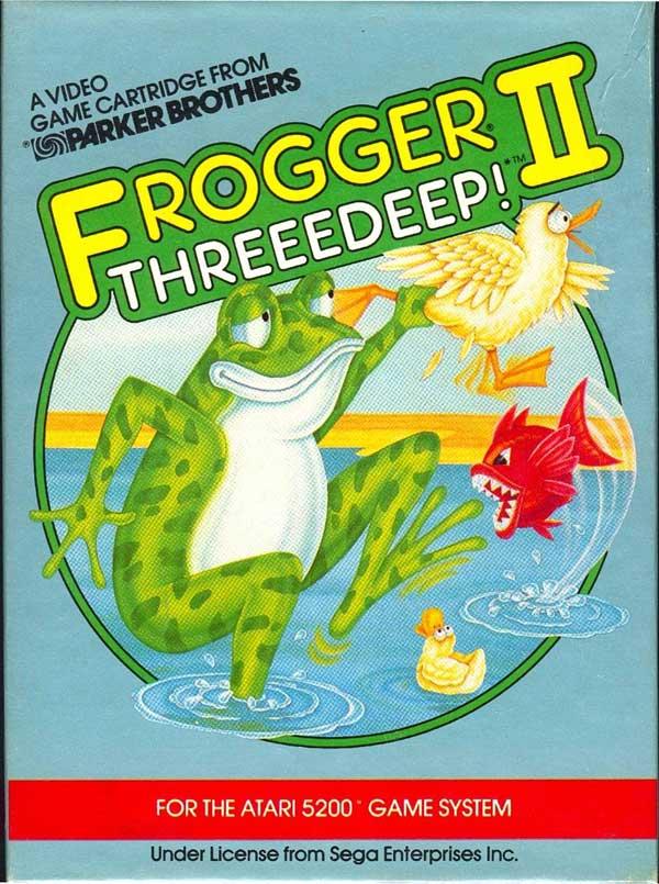 Frogger II: Threeedeep! - Box Front