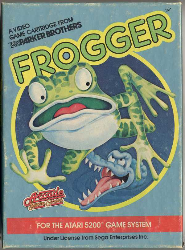 Frogger - Box Front