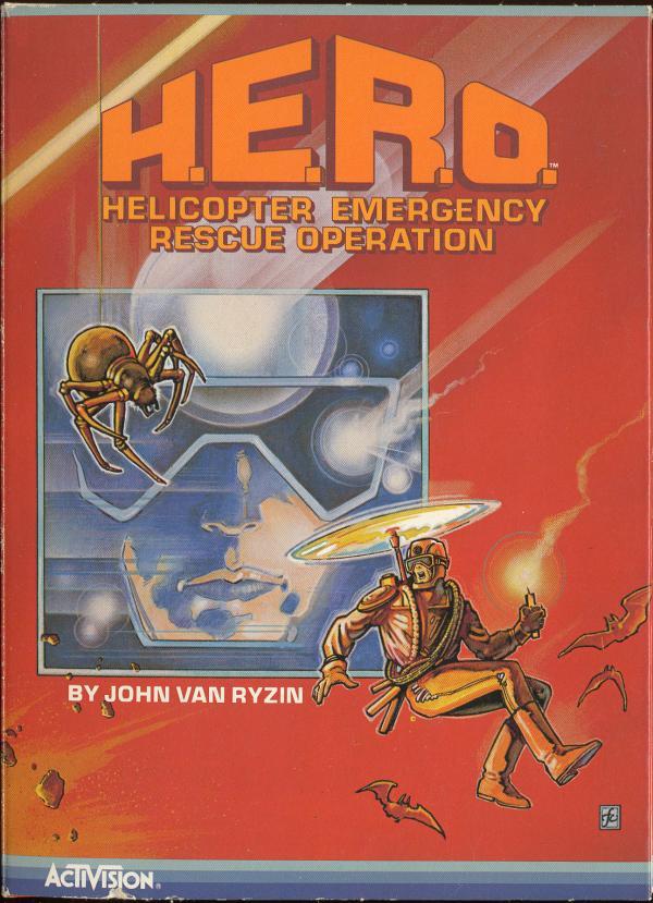 H.E.R.O. - Box Front