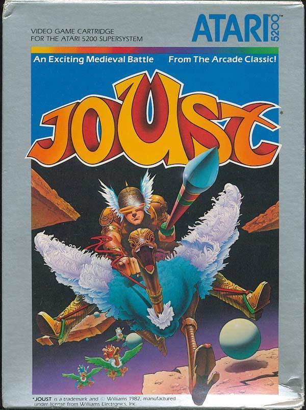 Joust - Box Front