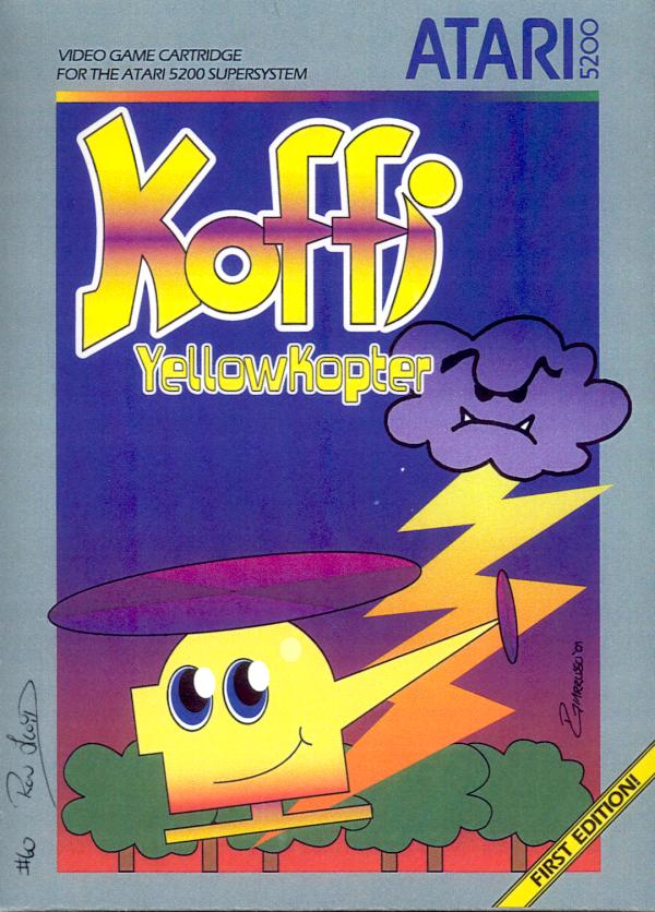 Koffi: Yellow Kopter - Box Front