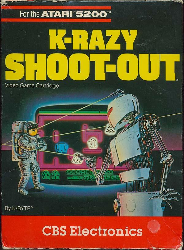 K-Razy Shoot-Out - Box Front
