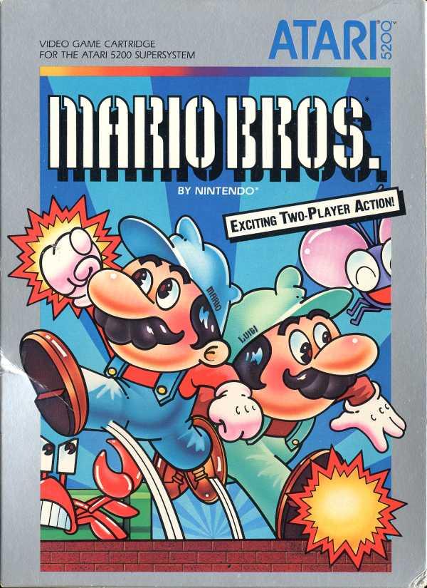 Mario Bros. - Box Front