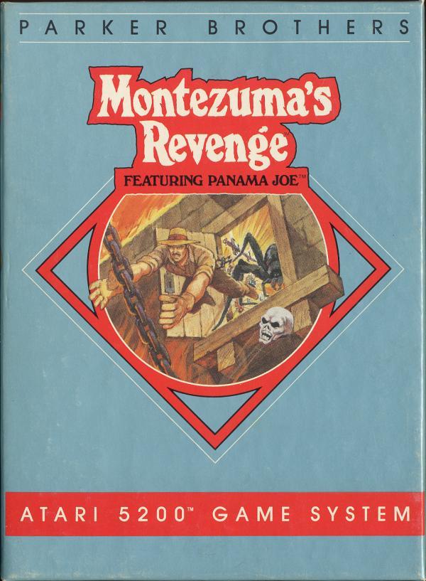 Montezuma's Revenge - Box Front