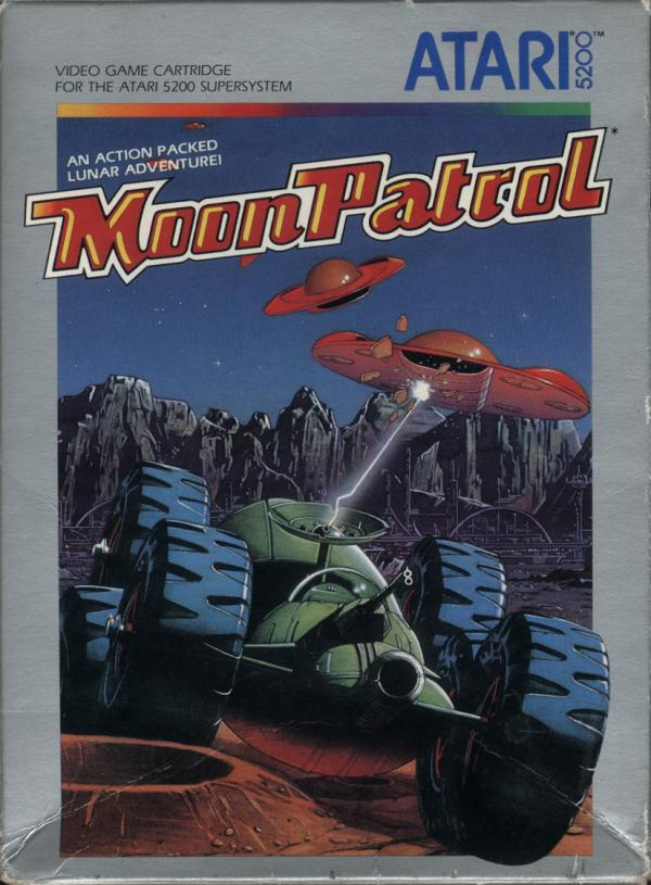 Moon Patrol - Box Front