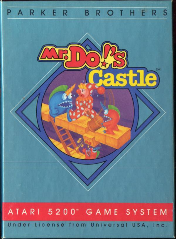 Mr. Do!'s Castle - Box Front