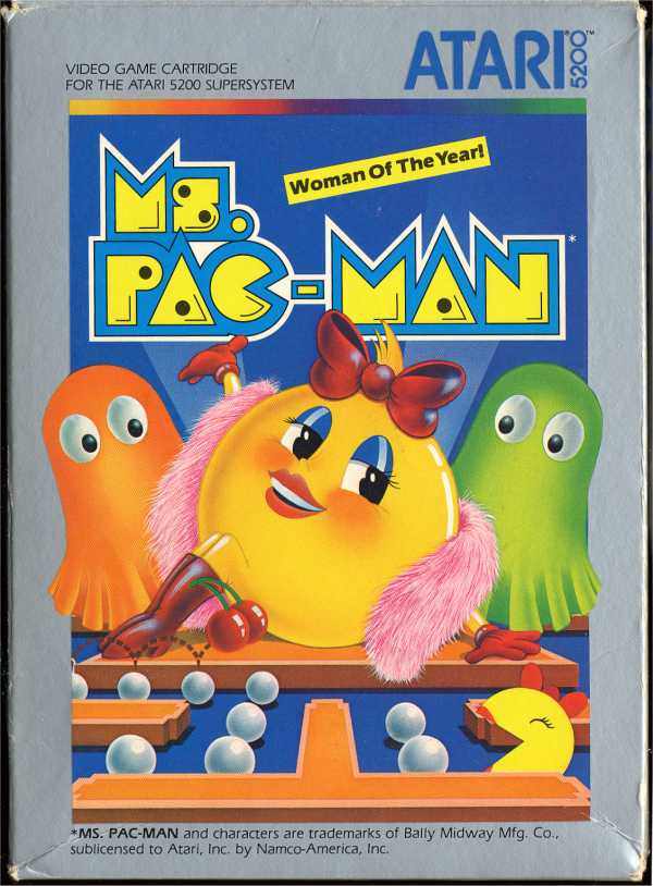 Ms. Pac-Man - Box Front