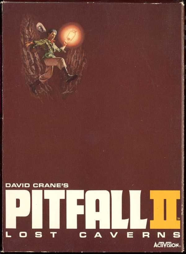 Pitfall II: Lost Caverns - Box Front