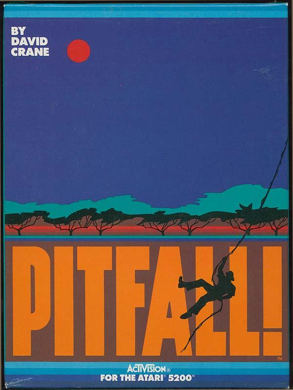 Pitfall! - Box Front