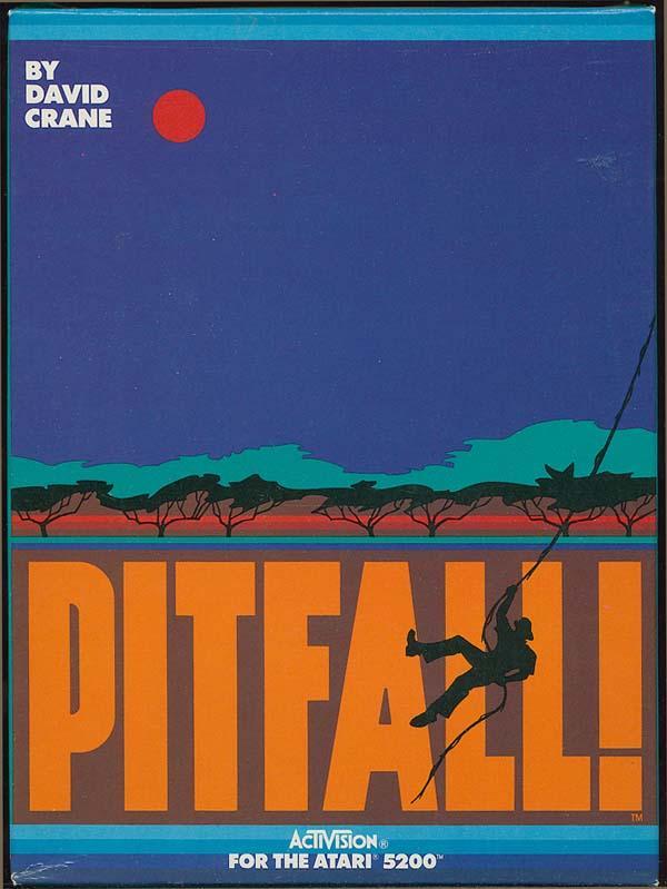 Pitfall! - Box Front