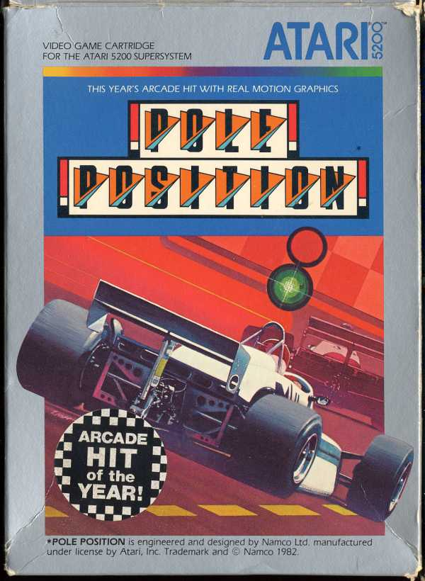 Pole Position - Box Front