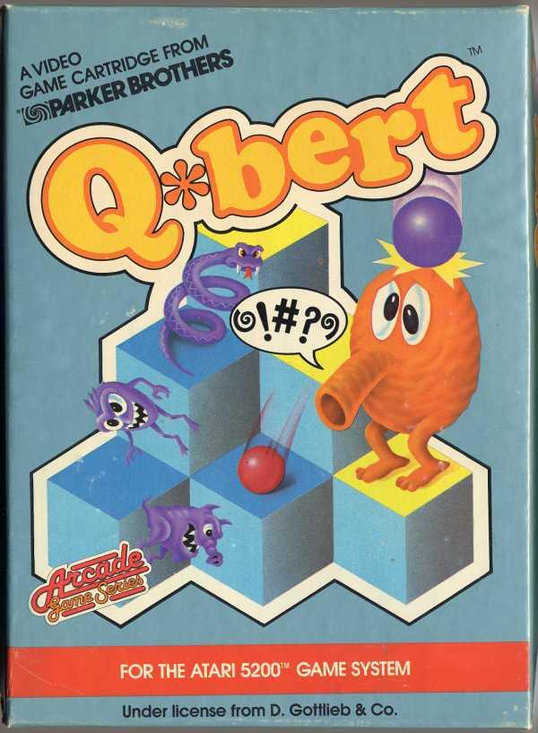 Q*bert - Box Front