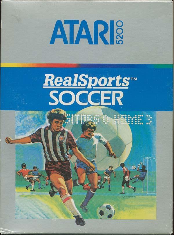 Realsports Soccer - Box Front