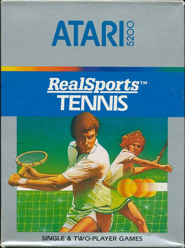 Realsports Tennis - Box Front