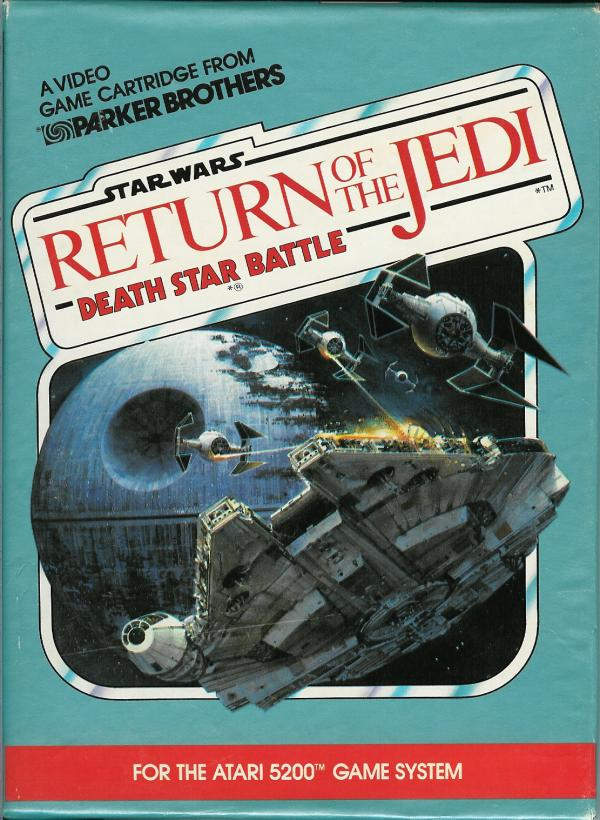 Star Wars: Return of the Jedi Death Star Battle - Box Front