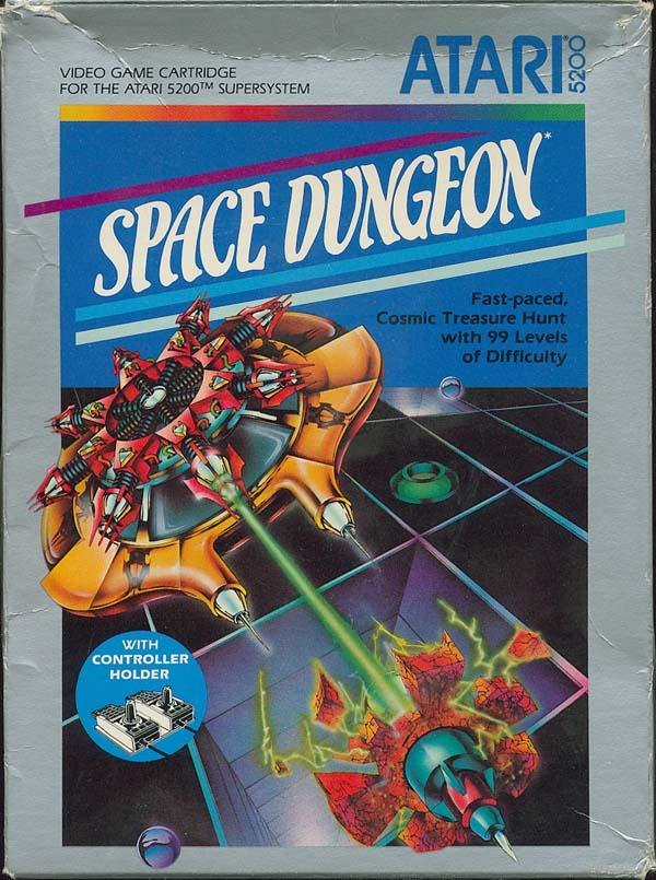 Space Dungeon - Box Front