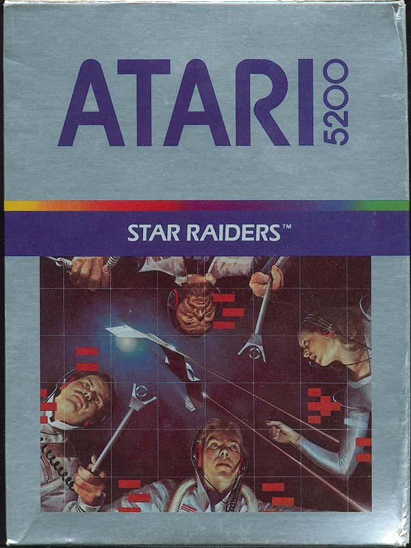 Star Raiders - Box Front