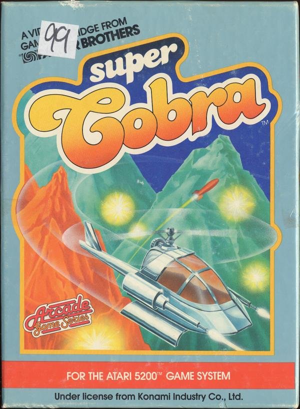 Super Cobra - Box Front