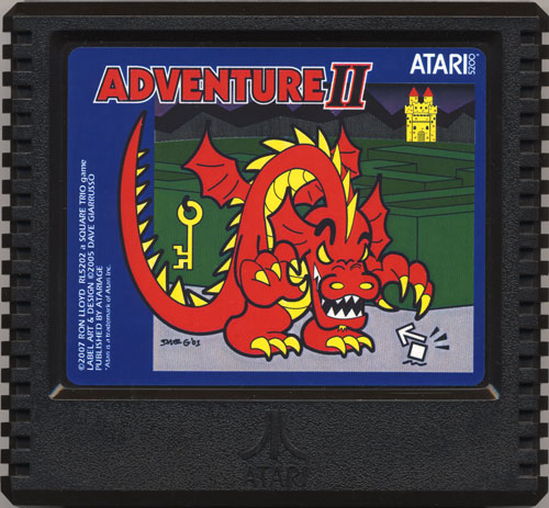 Adventure II - Cartridge Scan