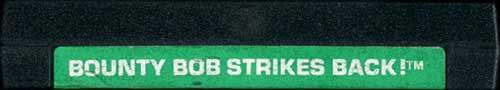 Bounty Bob Strikes Back - Cartridge Scan