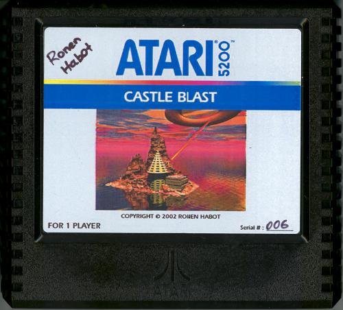 Castle Blast - Cartridge Scan