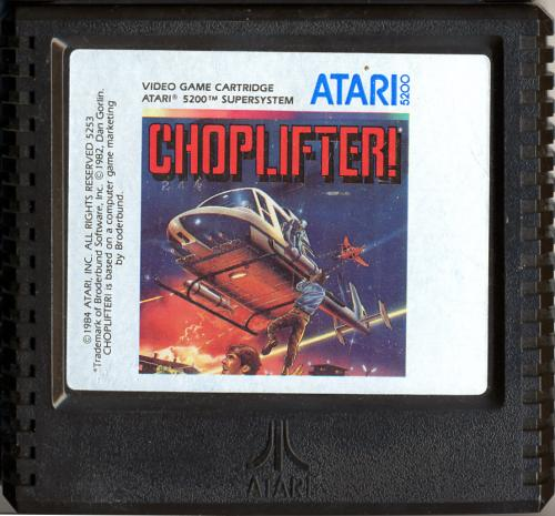 Choplifter! - Cartridge Scan