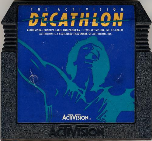 Activision Decathlon, The - Cartridge Scan