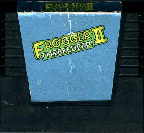 Frogger II: Threeedeep! - Cartridge Scan