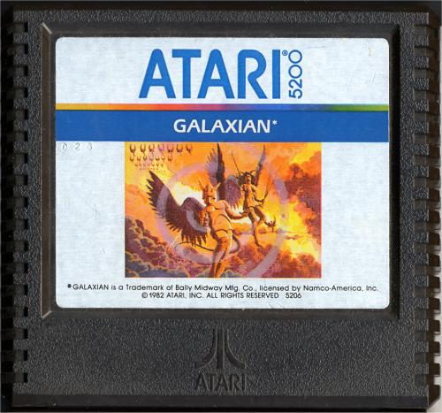 Galaxian - Cartridge Scan