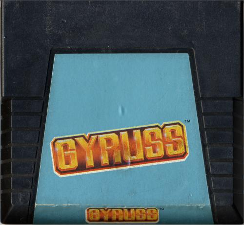 Gyruss - Cartridge Scan