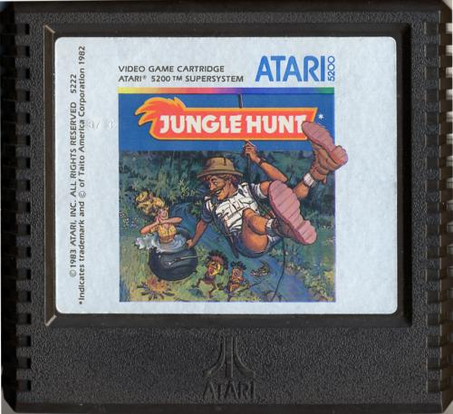 Jungle Hunt - Cartridge Scan