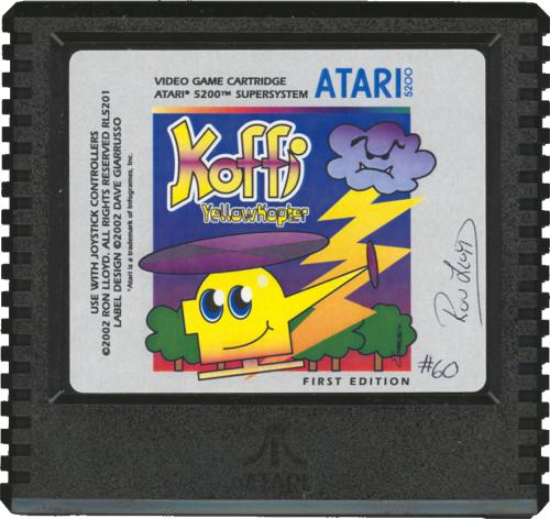 Koffi: Yellow Kopter - Cartridge Scan