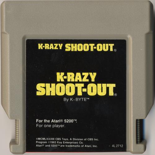 K-Razy Shoot-Out - Cartridge Scan