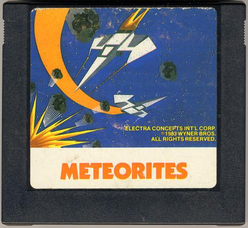 Meteorites - Cartridge Scan