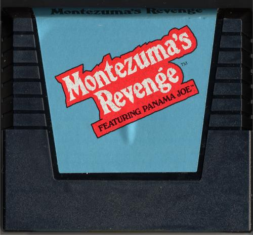 Montezuma's Revenge - Cartridge Scan