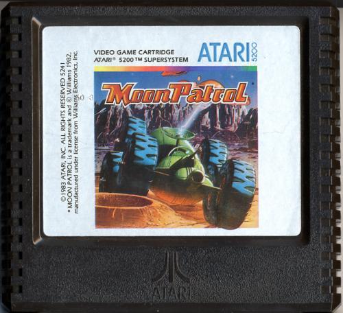 Moon Patrol - Cartridge Scan