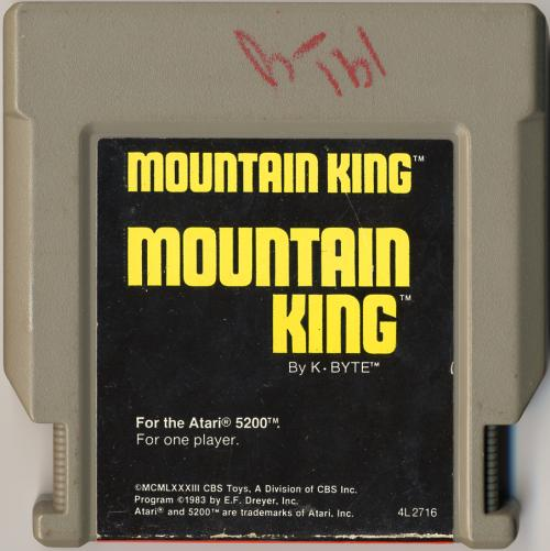 Mountain King - Cartridge Scan