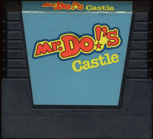 Mr. Do!'s Castle - Cartridge Scan