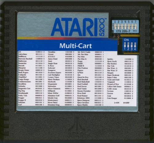 Multi-cart - Cartridge Scan