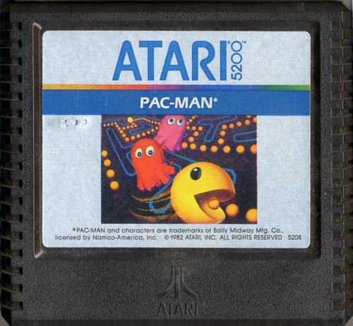 Pac-Man - Cartridge Scan