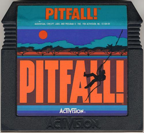 Pitfall! - Cartridge Scan