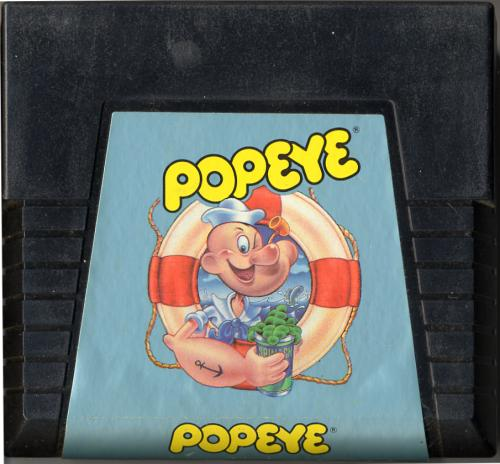 Popeye - Cartridge Scan