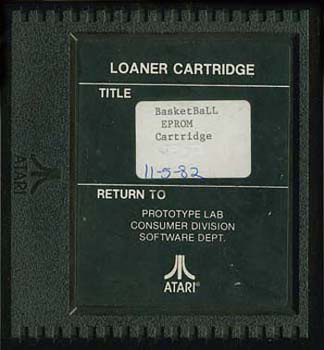Realsports Basketball - Cartridge Scan