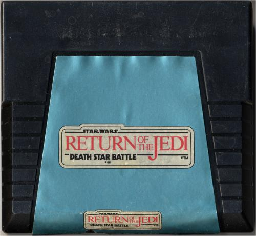 Star Wars: Return of the Jedi Death Star Battle - Cartridge Scan