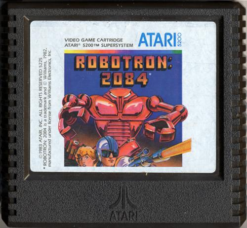 Robotron: 2084 - Cartridge Scan
