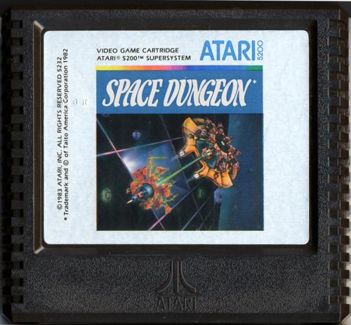 Space Dungeon - Cartridge Scan