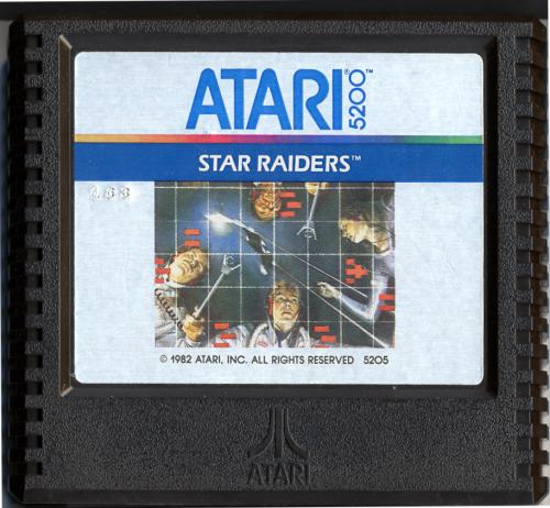 Star Raiders - Cartridge Scan