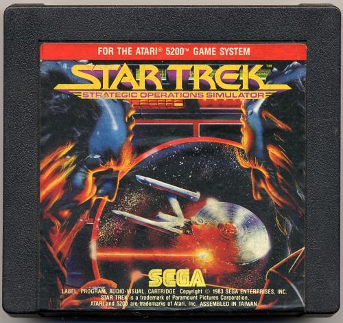 Star Trek: Strategic Operations Simulator - Cartridge Scan