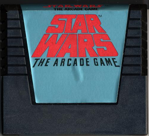 Star Wars: The Arcade Game - Cartridge Scan